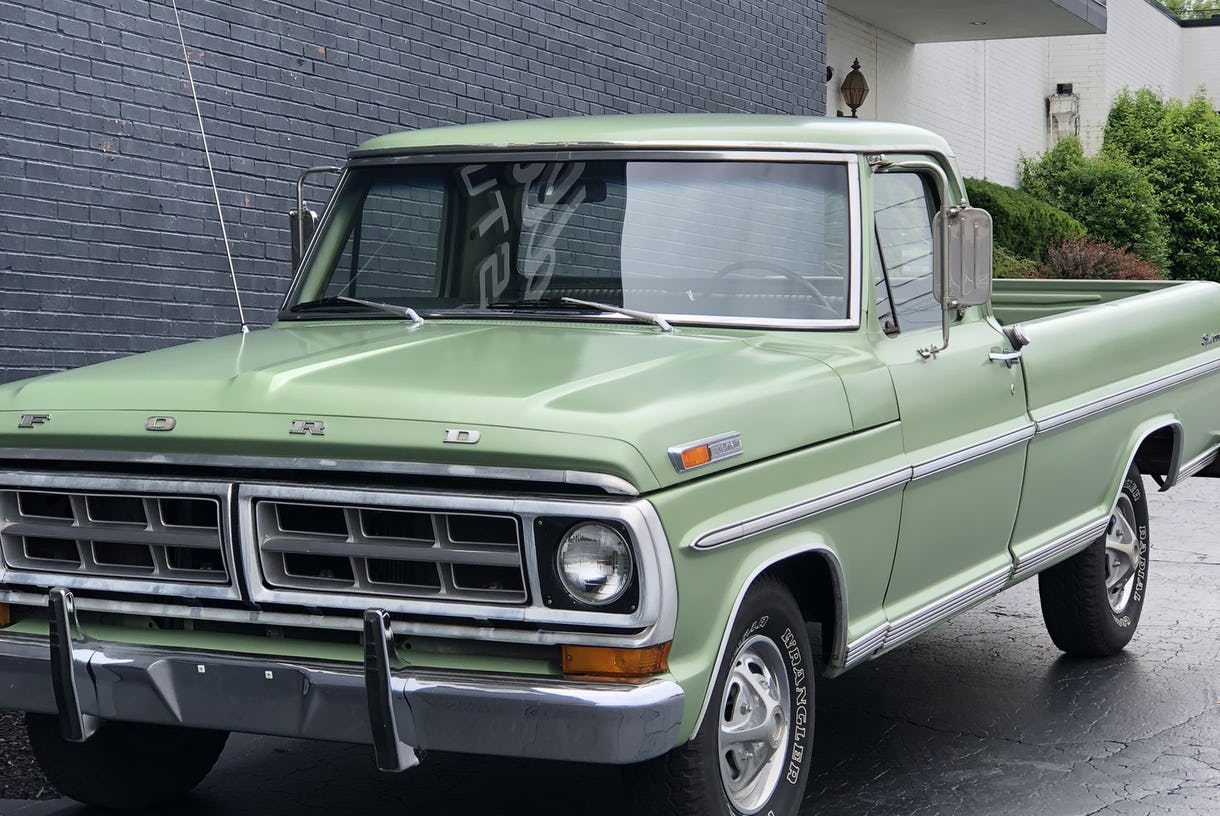 1971 Ford F100 Pickup Truck