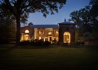 Belle Meade Villa with Pool, Stables, Barn, Pond, Fountains and Grand Hallway