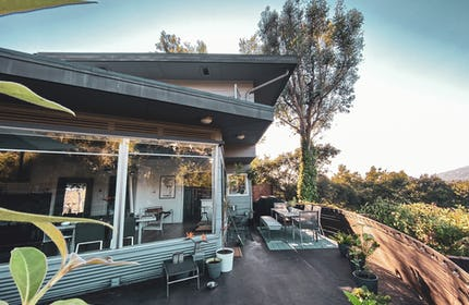 Mid-Century Modern Architectural Home with Views and Space