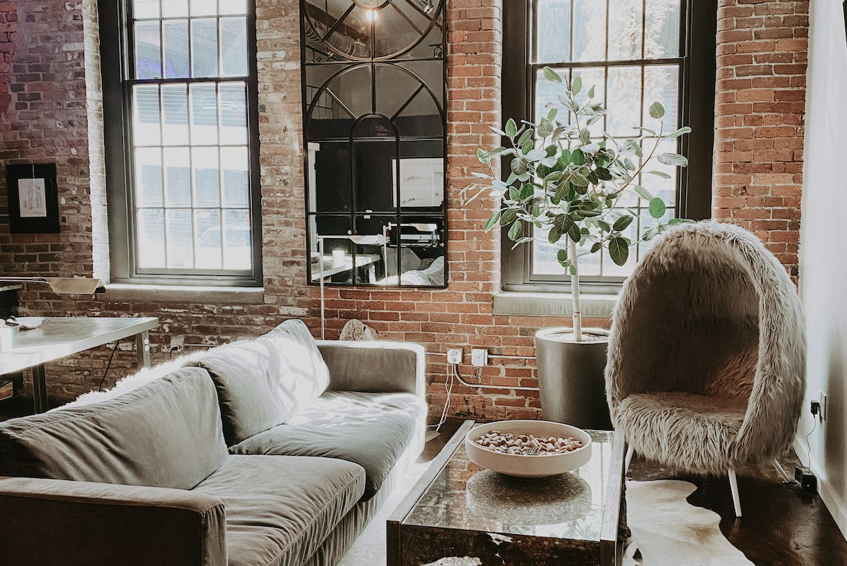 Seductive Loft with Moody Exposed Brick