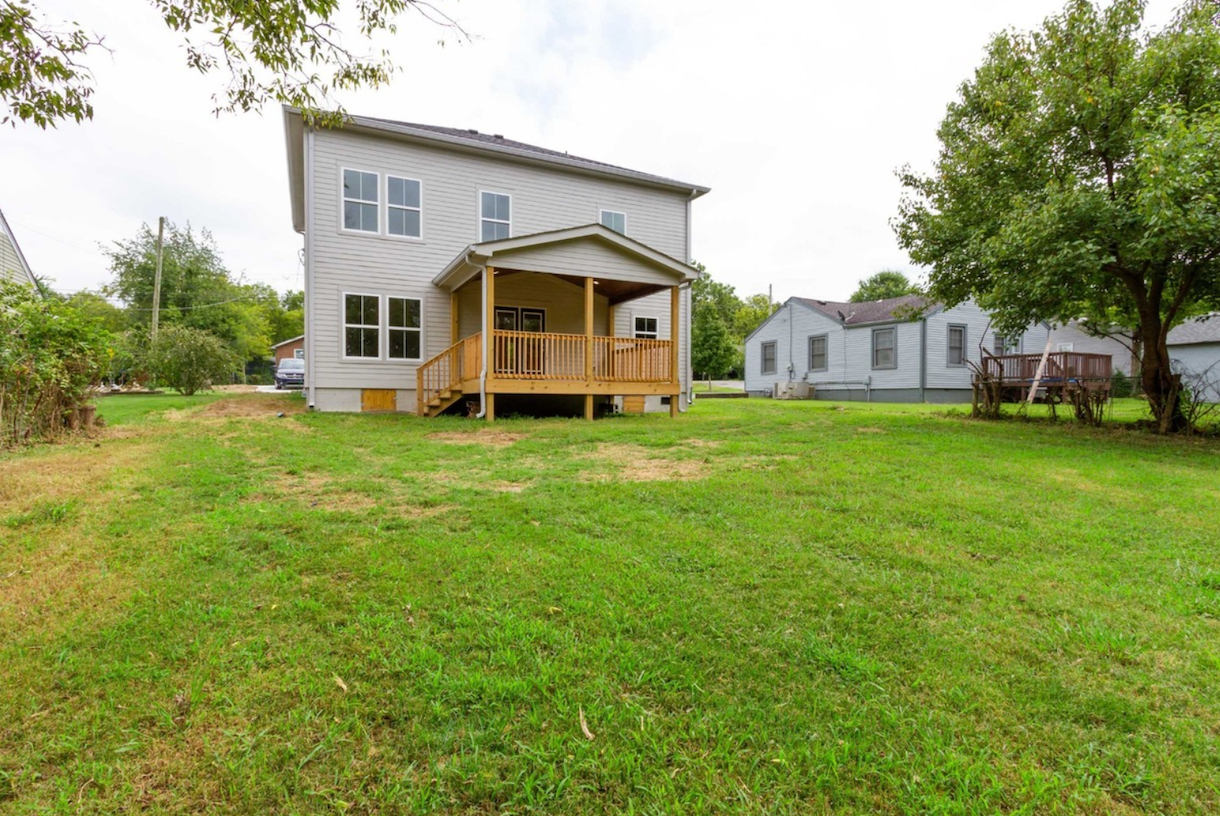 Approachable, modern, custom home with large, open spaces in Nashville