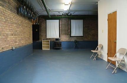Ravenswood Photo / Video Studio with Exposed Brick