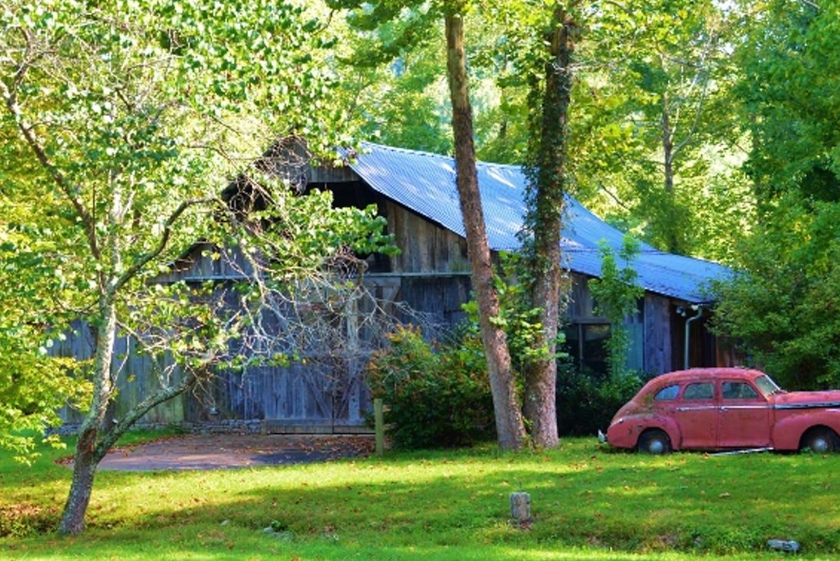Barn-By-the Creek