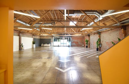 Large Renovated Warehouse with Exposed Brick and Natural Light