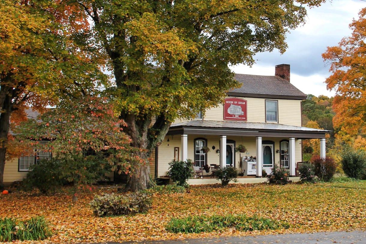 House of Cedar, an 1800 Farmhouse and Mini Farm Just Outside of Nashville