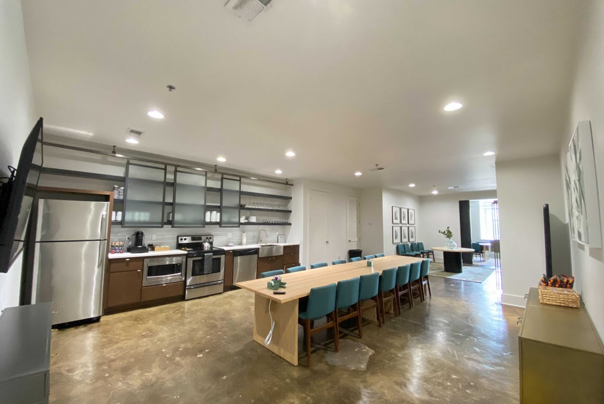 Private Boardroom Downtown Nashville with Breakout Space and AV