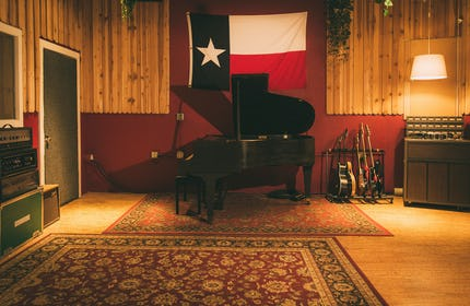 North Austin recording studio space for music, filming, rehearsal, meetings, etc.