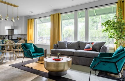 Eclectic Home with Pops of Color