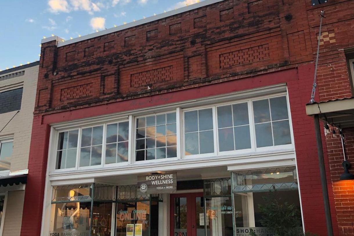 Historic Studio Space with Exposed Brick