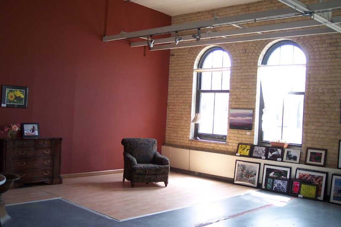 Old grain belt brewery building with exposed brick and lots of natural light