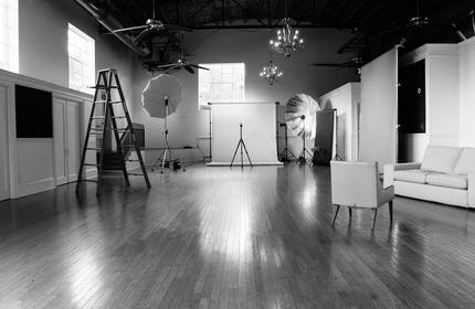 Vine Studios on the Square in Murfreesboro. Incredible light and character.