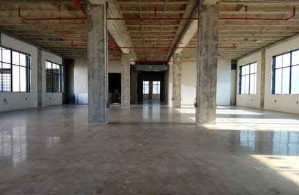 Original US Schlumberger Building Raw Space