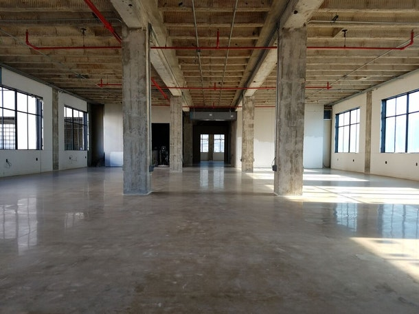 Original US Schlumberger Building Raw Space