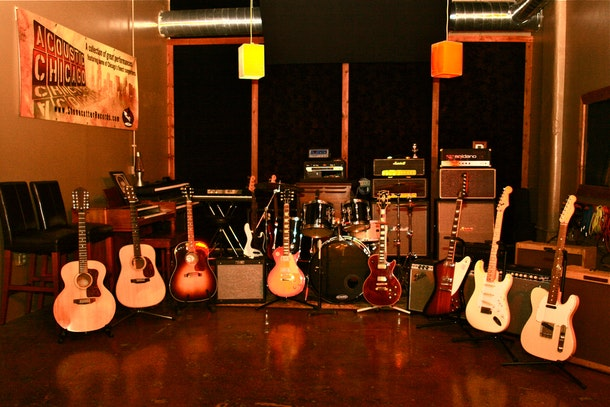Stonecutter Recording Studios - 25 ft ceilings and classic gear