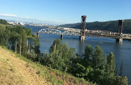 Historic Ballroom on the Willamette River with Astounding Views
