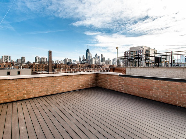Rooftop space in Old Town with great skyline views
