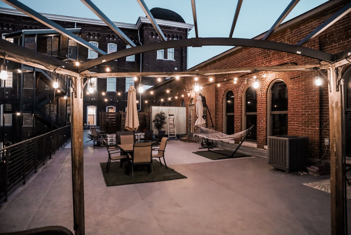 Downtown Loft with Exposed Brick in 1800's Refurbished Factory Building w/ 800 Outdoor Terrace - New York Feel