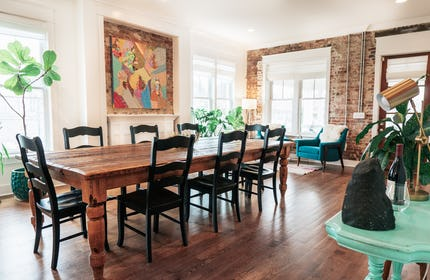 3400 Sq Ft, 12 Ft Ceilings, Exposed Brick, East Nashville Bohemian House